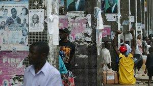 Una calle de la capital de Liberia, Monrovia, ciudad donde se ha producido el trágico incendio.