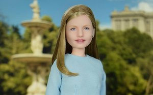 Leonor, convertida en muñeca.