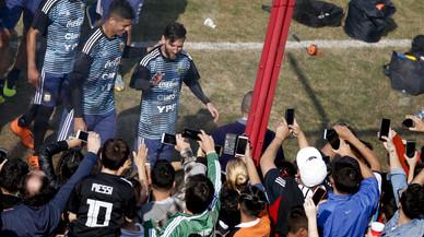 Argentina enloquece con Messi