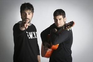 Los hermanos Muñoz, Estopa, que llevarán su giraRumba a lo desconocido a Porta Ferrada.