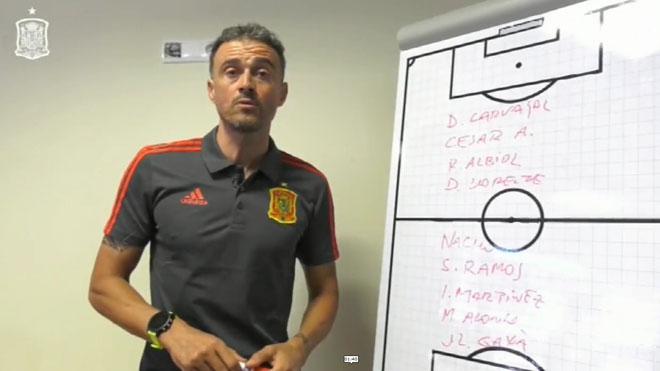 Luis Enrique da a conocer los 24 futbolistas que forman su primera lista como seleccionador de España.