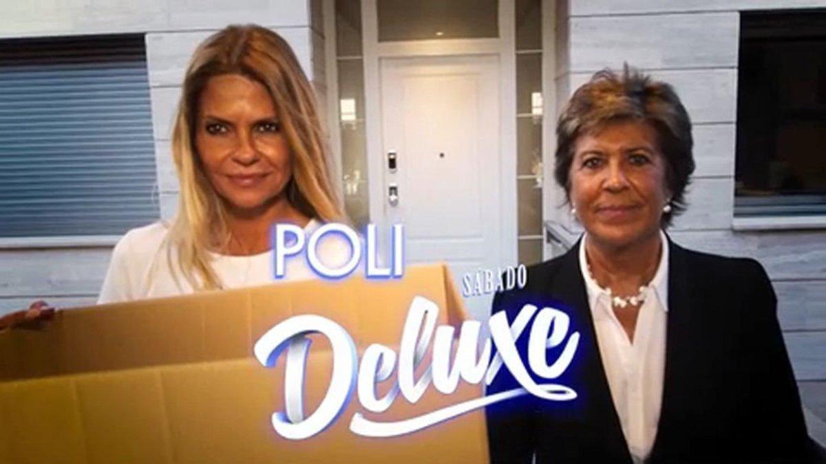 Makoke y Conchita en la nueva promo de 'Sábado deluxe'.