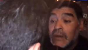La policia va a l'hotel de Maradona per una suposada agressió a la seva nòvia