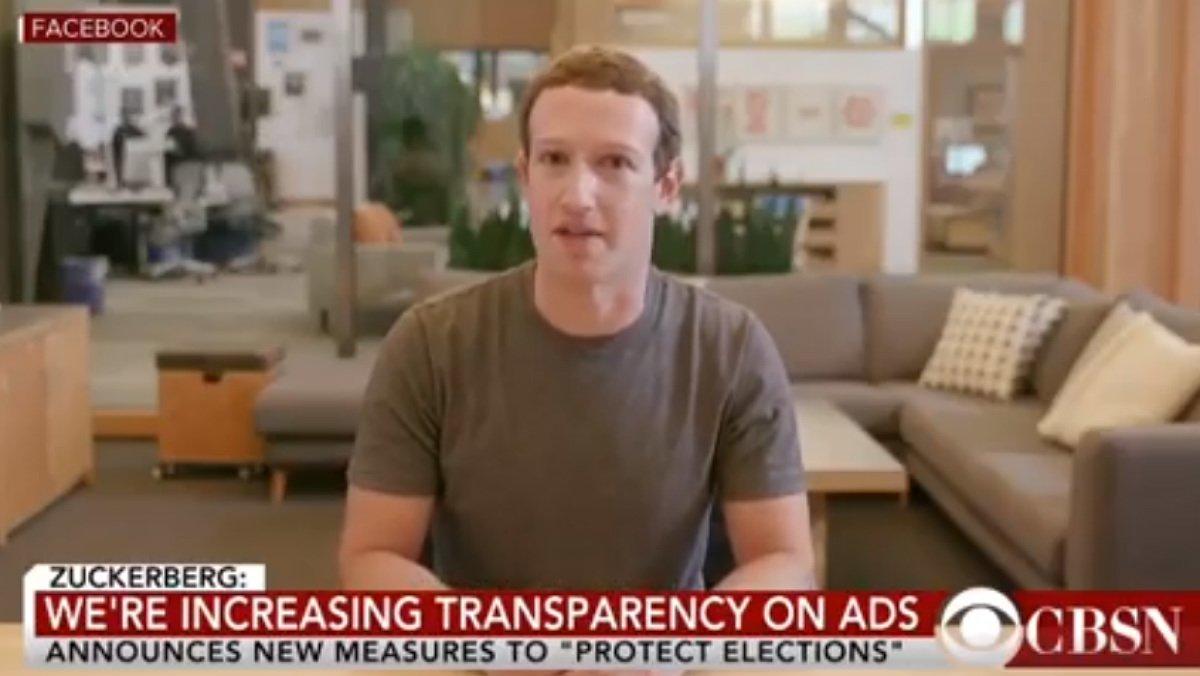 Un vídeo ultrafals de Zuckerberg posa a prova les regles de Facebook