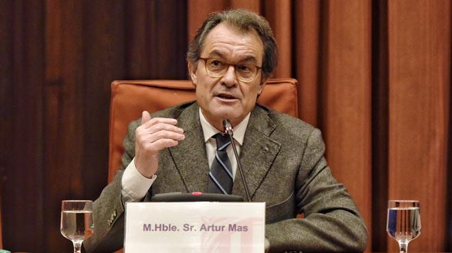 L'expresident ha donat explicacions sobre el finançament de l'antiga Convergència.