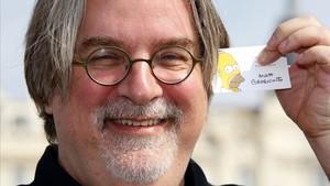 Matt Groening, creador de Los Simpson.