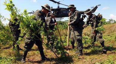 El narcotráfico como telón de fondo permanente en Colombia