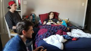 Un jove amb càncer terminal prova l'últim joc de Nintendo abans del seu llançament