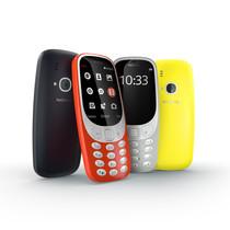 El Nokia 33010 presentado este domingo en el Mobile World Congress.