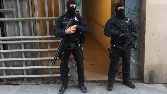 Operación antiterrorista en Barcelona contra presuntos yihadistas que tenían intención de atentar