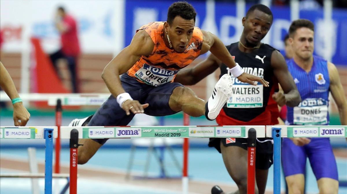Orlando Ortega, subcampeón olímpico en vallas.