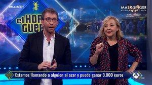 """Una mujer manda """"a tomar por culo"""" a Carmen Machi en 'El hormiguero' y pierde 3.000 euros"""