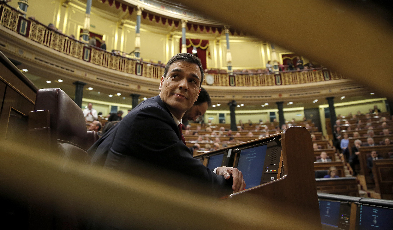 ¿Cuál ha sido el latiguillo de Pedro Sánchez en su discurso de investidura?