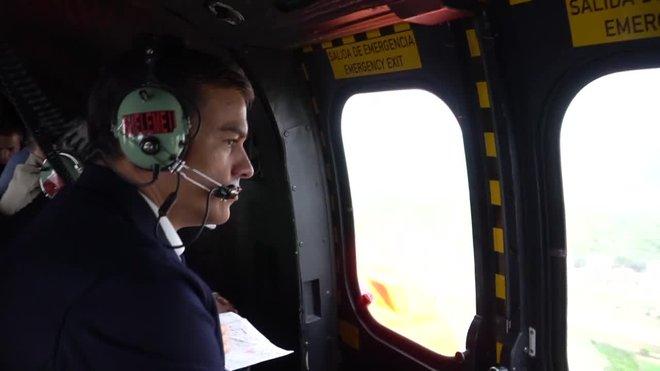 Sánchez visita les zones afectades d'Alacant i Múrcia
