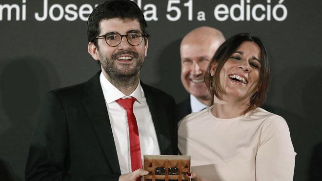"""Manuel Valls, al guanyador del premi Josep Pla per haver recordat els presos: """"Mira que sou pesats"""""""
