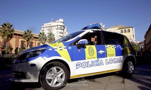 Una patrulla de la Policía local de Sevilla.