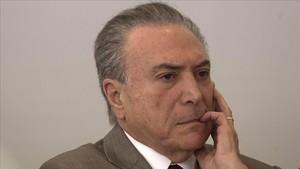 El expresidente de BrasilMichel Temer.