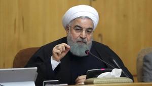 El presidente iraní, Hasán Rohaní.