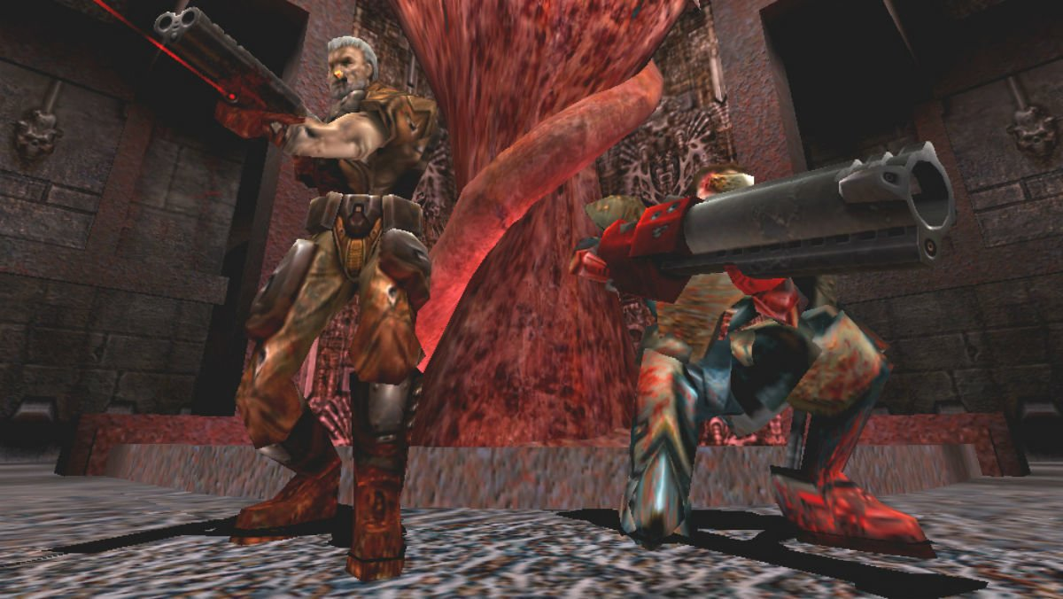 Elconocido videojuego Quake III Arena.