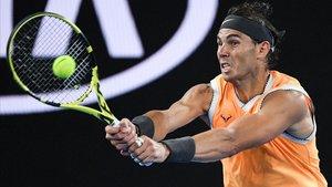 Rafael Nadal, semifinalista en Melbourne.