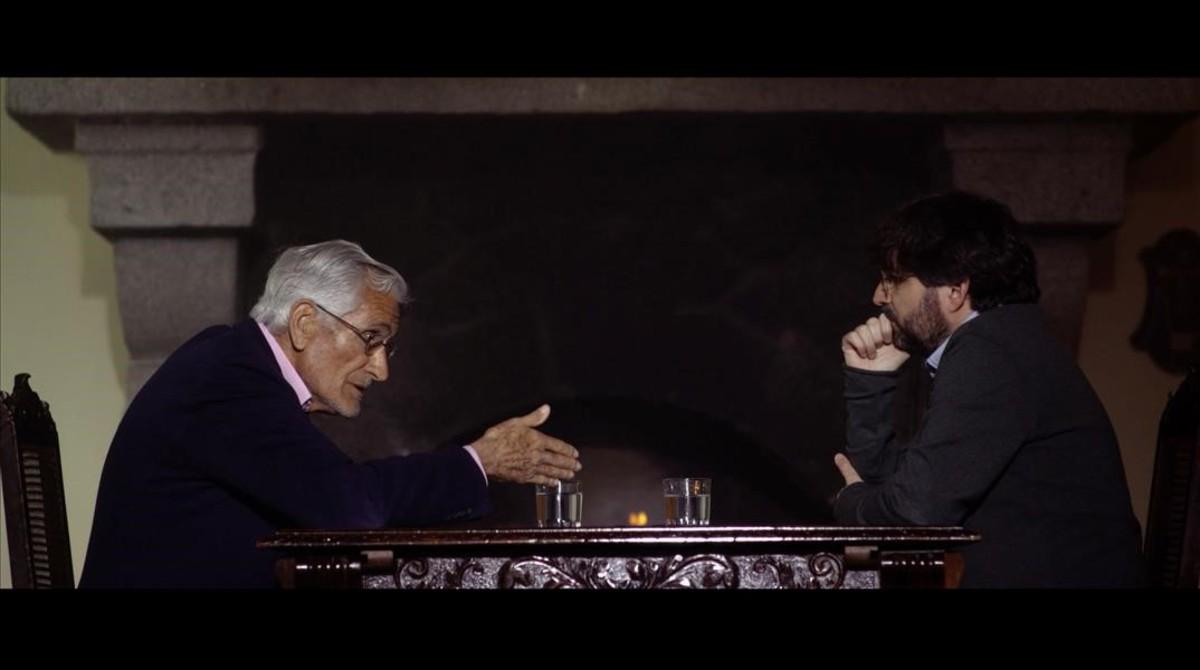 Rafael Vera conversa con Jordi Évole, en Salvados (La Sexta).