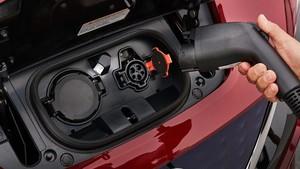 Recarga del Nissan Leaf.