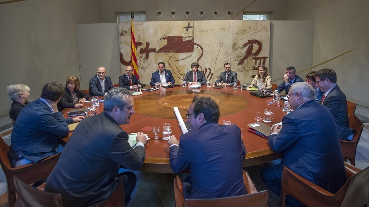 Reunión del Consell Executiu del Govern.