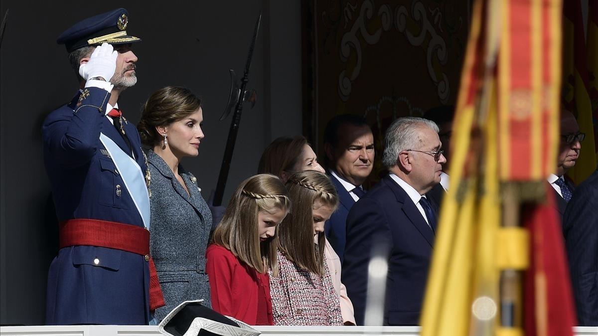 El 12-O recobra la calma en Madrid
