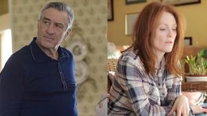 Los actores Robert de Niro y Julianne Moore.