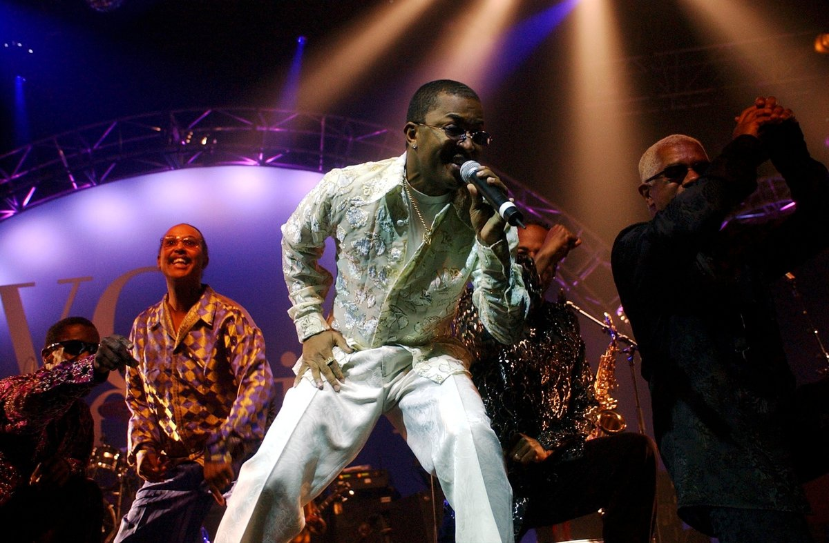 Ronald Bell, en una actuación de Kool and the Gang en el 2002.
