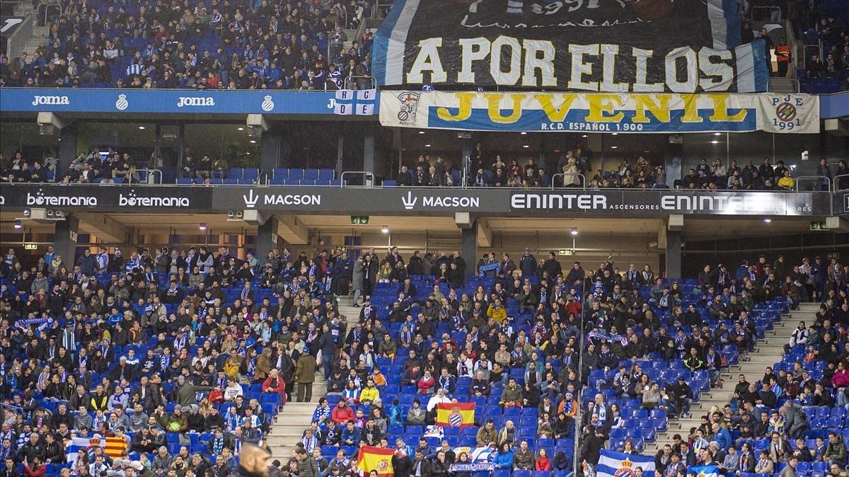 L'Espanyol vol acabar la Lliga amb públic a Cornellà