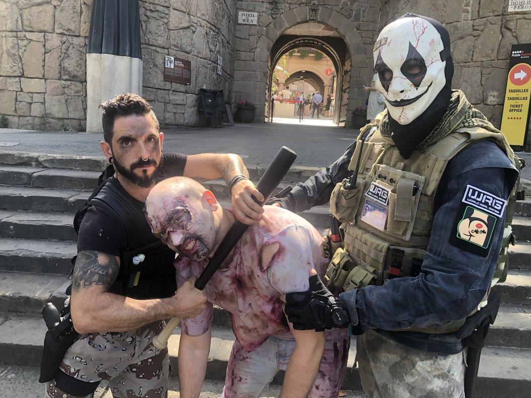 Zombies y enmascarados provocarán el pánico entre los asistentes.