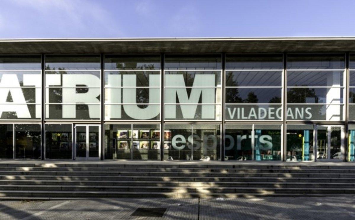 El teatro Atrium de Viladecans.