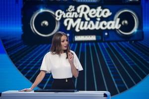 Eva Gonzalez, presentadora del nuevo concurso de TVE-1 El gran reto musical.