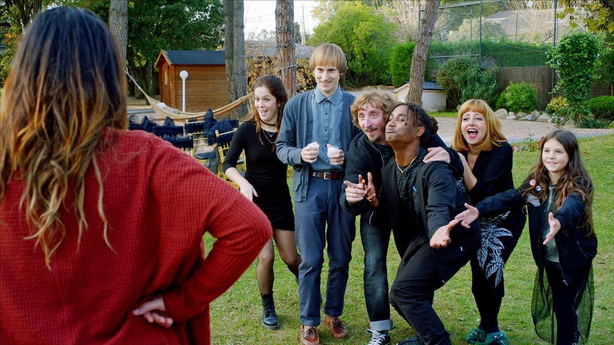 Imagen de la telecomedia de TV-3 Benvingutsa la família.