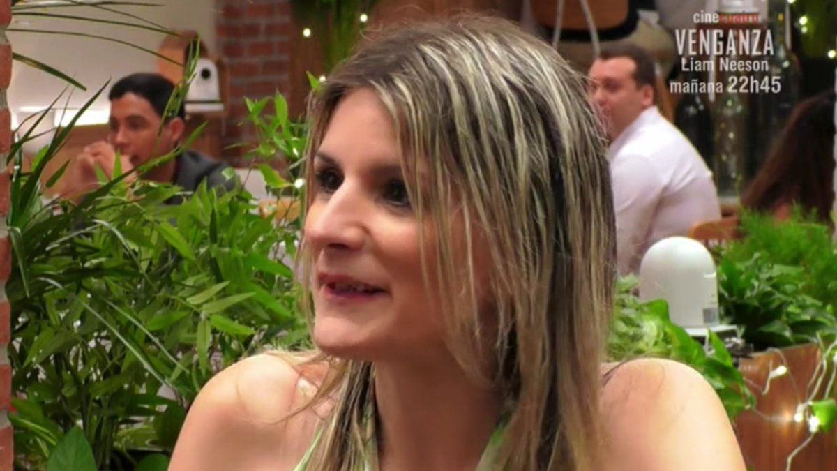 Teresa en 'First Dates'.