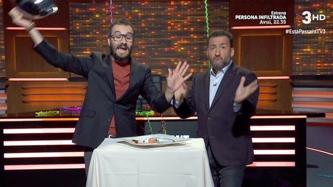 Toni Soler en 'Està passant' (TV-3).