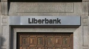 Una sucursal de Liberbank en Oviedo.