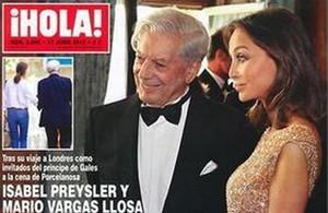 La revista ¡Hola! ha publicadola exclusiva sobre la nueva relación entre Vargas Llosa e Isabel Preysler.