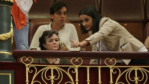 Ruth Ortiz, cuyos hijos fueron asesinados por su padre, José Bretón, ha seguido en la tribuna del Congreso el debate sobre el Pacto de Estado contra la violencia machista.