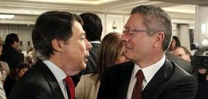 Los expresidentes de la Comunidad de Madrid Ignacio González y Alberto Ruiz-Gallardón.