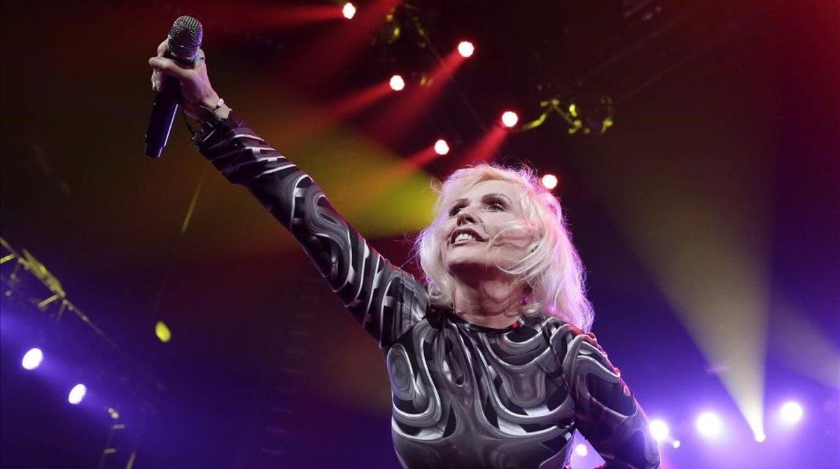 Debbie Harry, en un concierto benéfico en el 2014 en Nueva York.