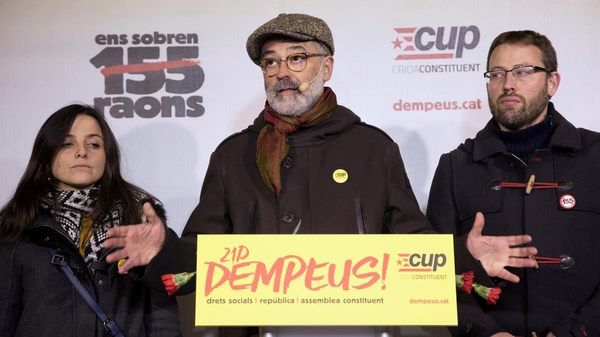 La CUP viatja a Brussel·les per negociar amb Puigdemont