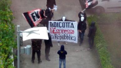 Atac ultra a les redaccions de 'La Repubblica' i 'L'Espresso'