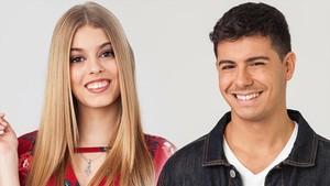 Els concursants catalans d''OT' canten 'Els segadors'