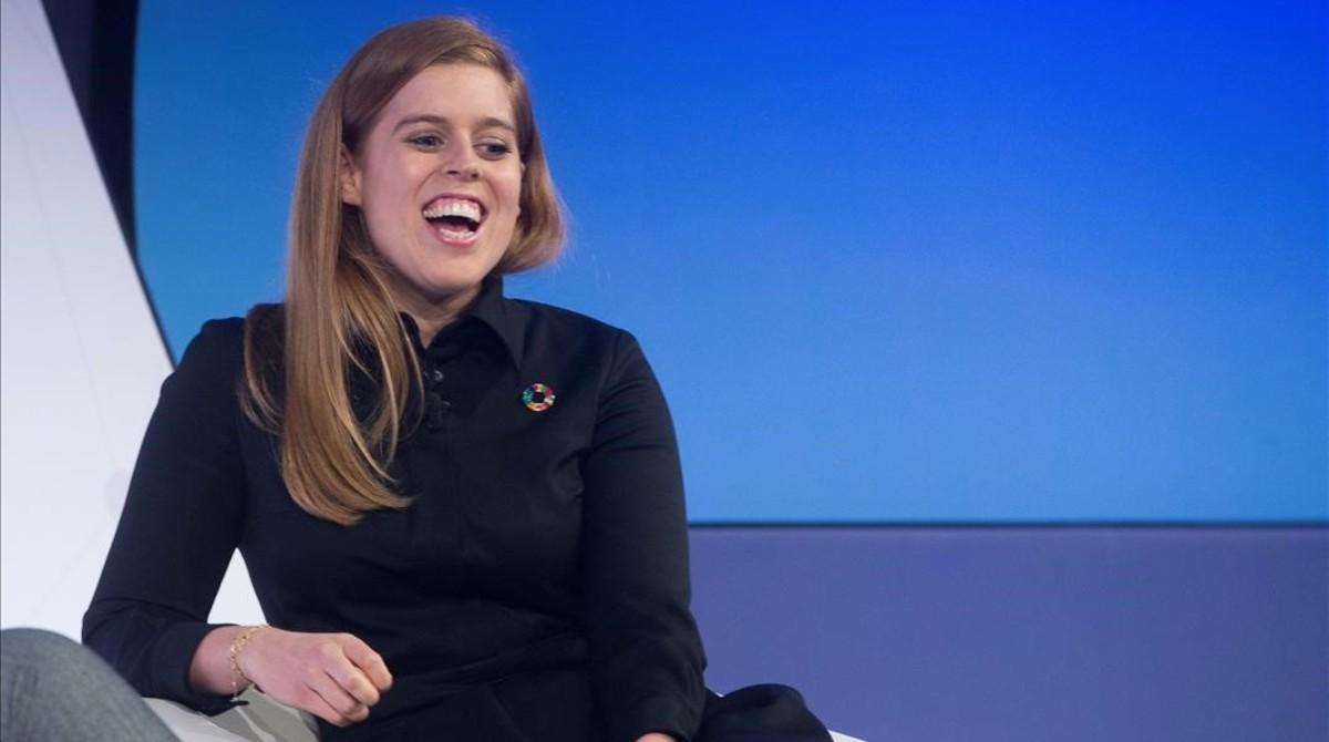 Beatriz de York, durante el debate en el Mobile World Congress.