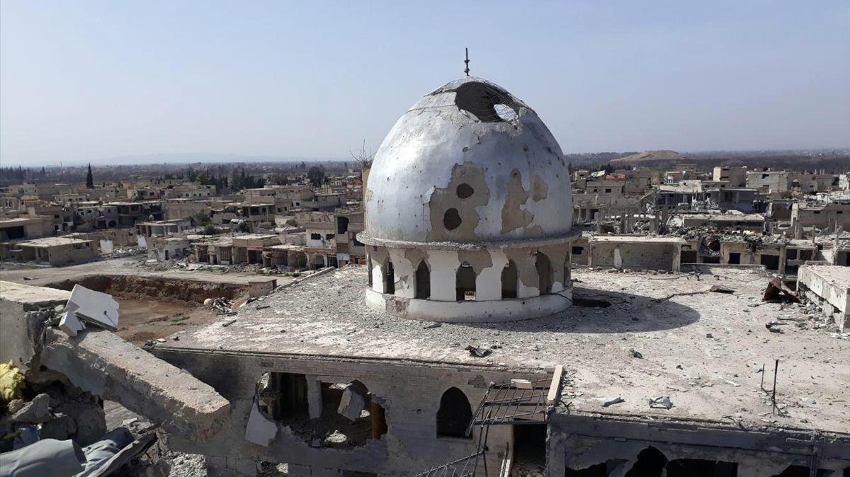 Les forces d'Assad aconsegueixen importants avanços a Ghouta