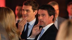 Por de Ciutadans que l'operació Valls els esborri del mapa a Barcelona
