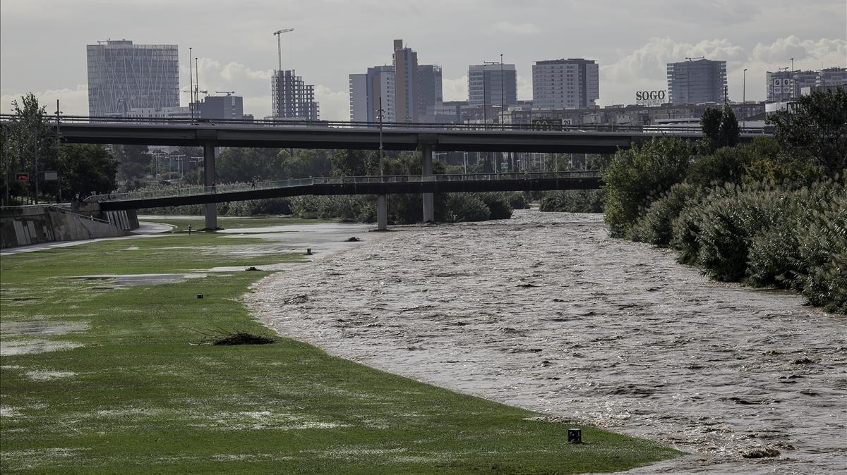 Quan el riu creix