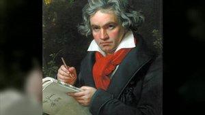 Retrato de Beethoven.